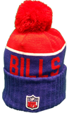 Buffalo Bills Vintage Sideline Knit Pom Toque