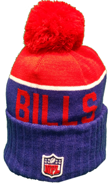 d1724a73128 Vintage Buffalo Bills Sideline Toque Pom Knit – More Than Just Caps  Clubhouse