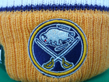 Buffalo Sabres Traditional Stripe Pom Toque