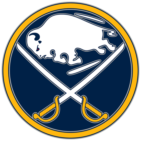Buffalo Sabres Jersey Numbering Pro Stitched 2 Layer