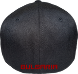 Bulgaria Cap Flex Fit FLS Black