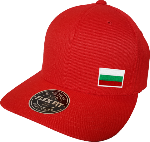 Bulgaria Cap Flex Fit FLS Red