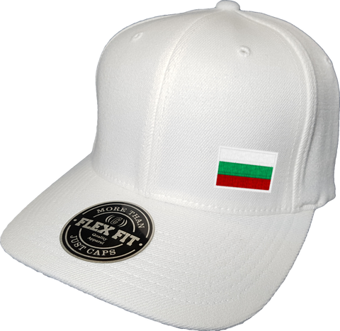 Bulgaria Cap Flex Fit FLS White