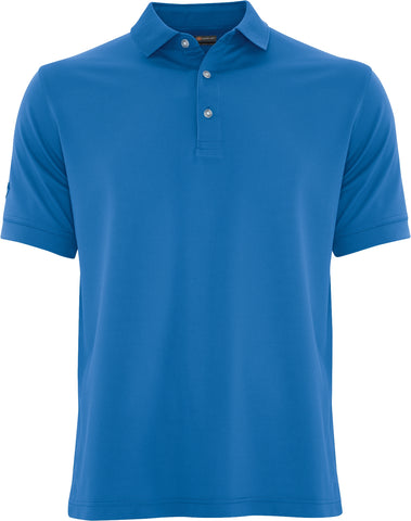 Custom Embroidered Callaway Ottoman Polo Blue