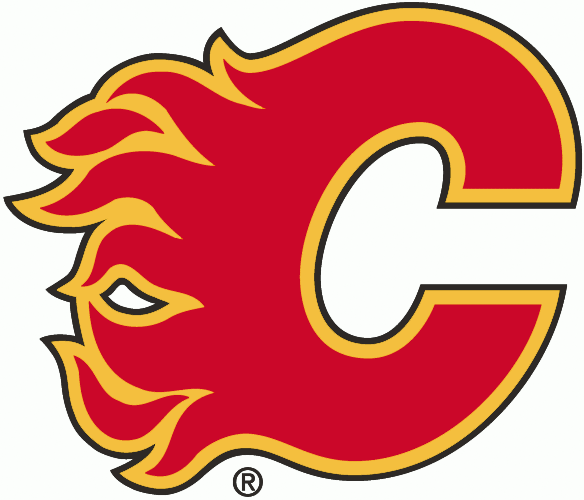 Calgary Flames Jersey Numbering Pro Stitched 3 Layer