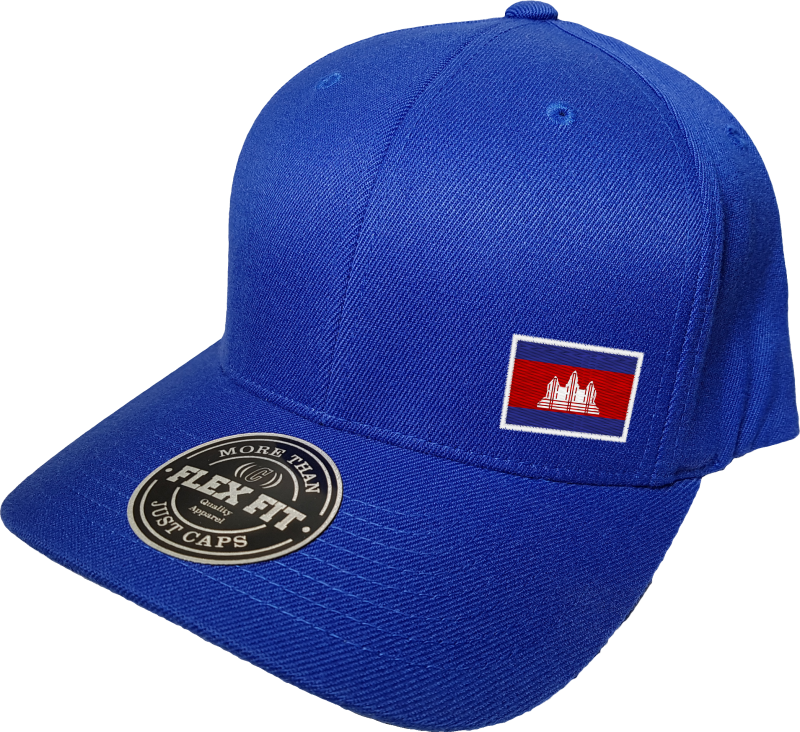 Cambodia Cap Flex Fit FLS Blue