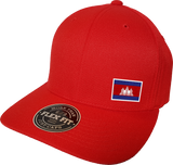 Cambodia Cap Flex Fit FLS Red