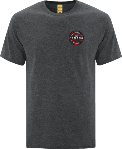 Canada Benchmark T-Shirt Dark Heather
