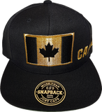 Canada Big Flag Snapback Black