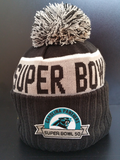Carolina Panthers Pom Toque Super Bowl 50 Participant
