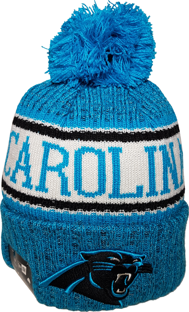 c8c143a3e Carolina Panthers NFL 18 Sideline Pom Toque – More Than Just Caps Clubhouse
