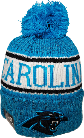 Carolina Panthers NFL 18 Sideline Pom Toque