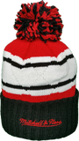 Chicago Blackhawks Mitchell & Ness High Five NHL Pom Toque