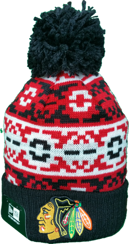 Chicago Blackhawks Retro Chill Pom Toque