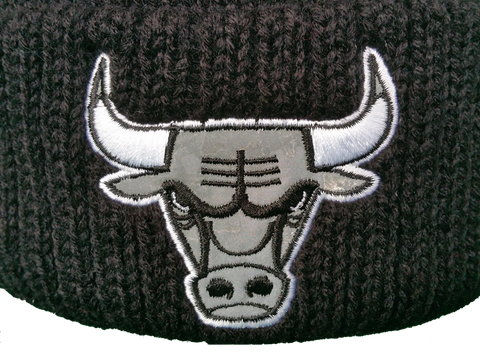 Chicago Bulls Logo Black And White