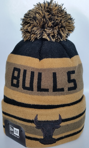 Chicago Bulls Fashion Jake Leather Patch Toque