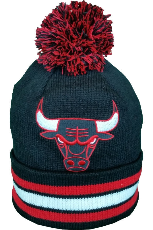 Chicago Bulls Mitchell & Ness XL Logo NBA Toque