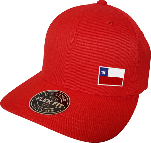 Chile Cap Flex Fit FLS Red