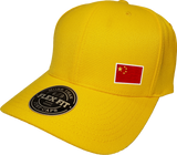 China Cap Flex Fit FLS Gold