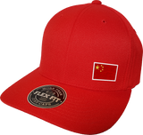 China Cap Flex Fit FLS Red