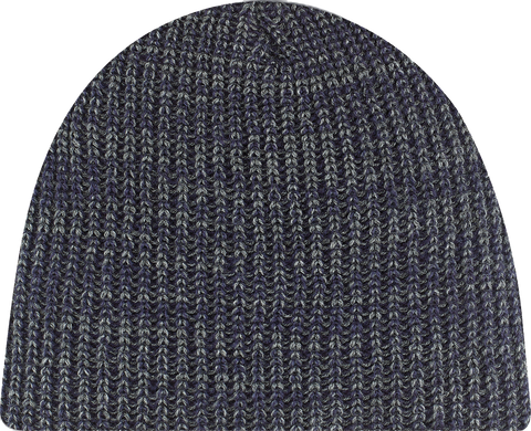 Chunky Waffle Knit Board Toque Navy Heather