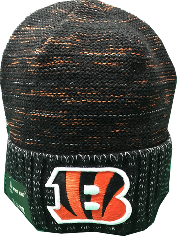 Cincinnati Bengals Reverse Kickoff Sideline Beanie Toque – More Than ... d6316b3f2984