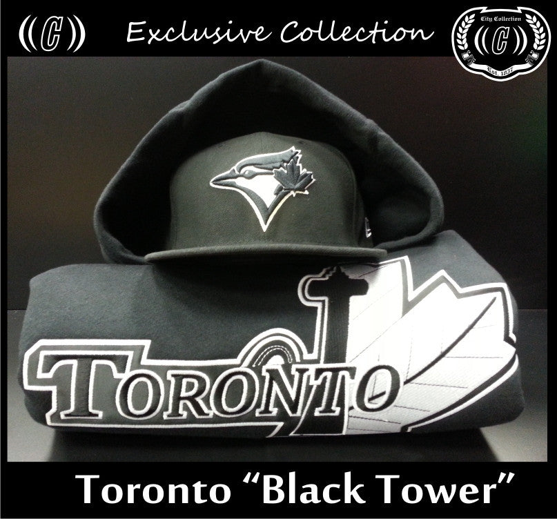 Toronto Black Tower Thermal Hoodie