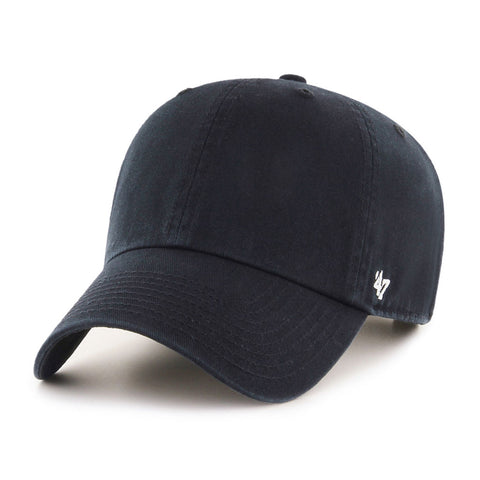Blank Adjustable 47 Clean Up Cap Black