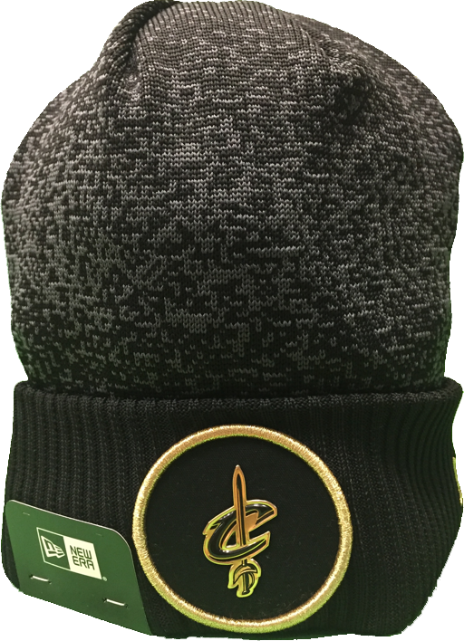 Cleveland Cavaliers Gold On Court Beanie Toque