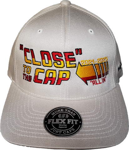 Close To The Cap MelnykOut Flex Fit Cap Natural