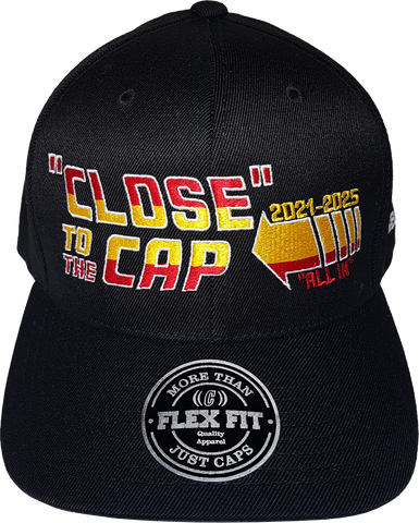 Close To The Cap MelnykOut Flex Fit Cap Black