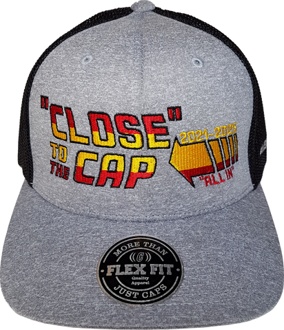 Close To The Cap MelnykOut Meshback Flex Fit Melange Black