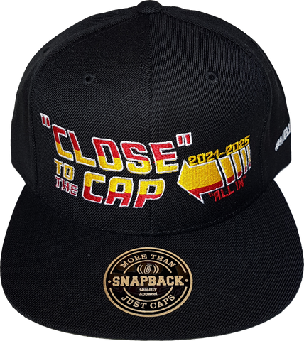 Close To The Cap MelnykOut Snapback Black