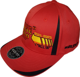 Close To The Cap MelnykOut Tech Flex Fit Cap Red Black