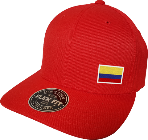 Colombia Cap Flex Fit FLS Red
