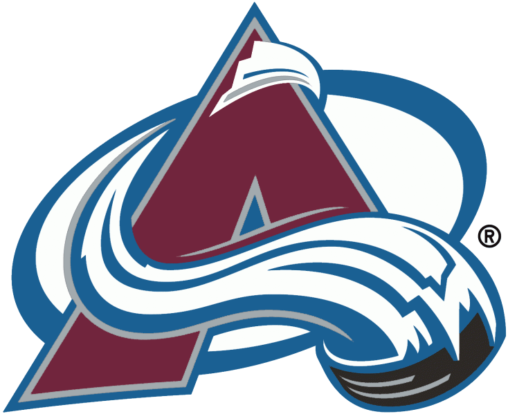 Colorado Avalanche Jersey Numbering Pro Stitched 2 Layer