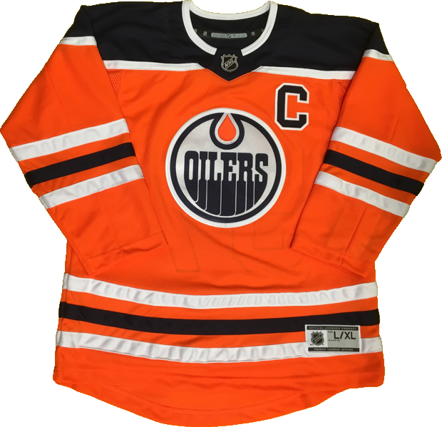 competitive price 02361 3445e Edmonton Oilers Jersey Numbering Pro Stitched Perforated ...