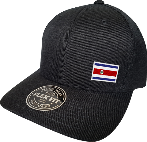 Costa Rica Cap Flex Fit FLS Black