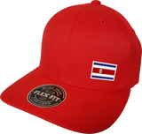 Costa Rica Cap Flex Fit FLS Red