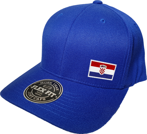 Croatia Cap Flex Fit FLS Blue