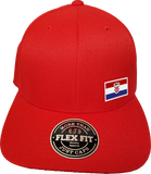 Croatia Cap Flex Fit FLS Red