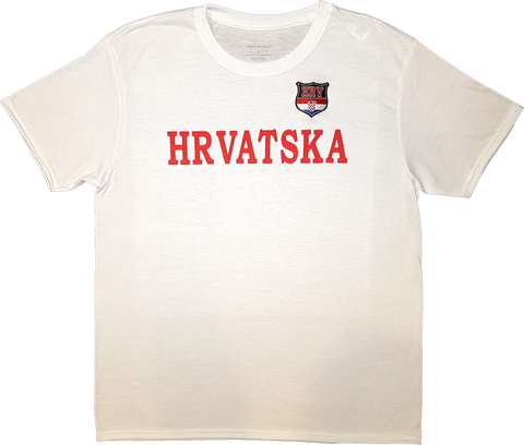 Croatia Twill Patch Tech T-Shirt