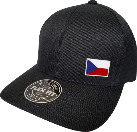 Czech Republic Cap Flex Fit FLS Black