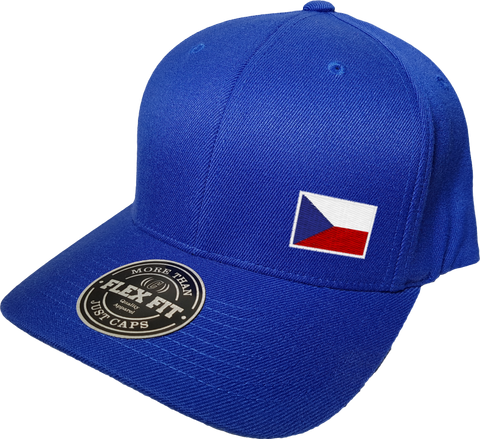 Czech Republic Cap Flex Fit FLS Blue