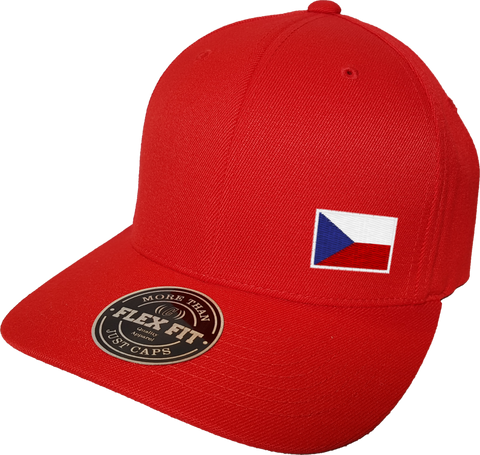 Czech Republic Cap Flex Fit FLS Red