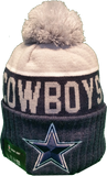 Dallas Cowboys Sideline Knit Pom Toque