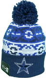 Dallas Cowboys Retro Chill Pom Toque