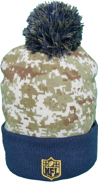 3366370364c Dallas Cowboys Salute to Service Sideline Pom Toque – More Than Just Caps  Clubhouse
