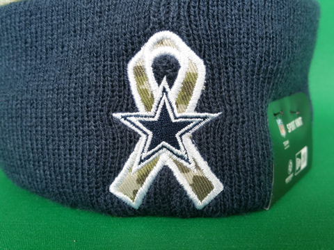 98cdecdbcad Dallas Cowboys Salute to Service Sideline Pom Toque – More Than Just ...