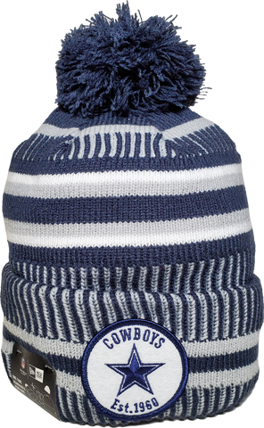 Dallas Cowboys Knit Pom Toque NFL Sideline